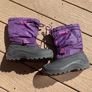 Kamik Girl's Winter Waterproof Boots in size 13